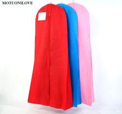 Mayorista personalizada Bolsa de traje de vestir de lujo Tapa de prendas de vestir