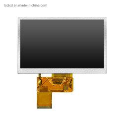 شاشة عرض LCD مقاس 5 بوصات 480X272 RGB 24 بت شاشة لمس تسلسلية اختيارية لوحة LCD TFT 40 سن