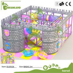 Замок малышу мягкая игровая площадка для установки внутри помещений объекта Naughty детям играть в области