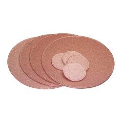 Pu cuir personnalisé rond Vente en gros écologique ustensiles de cuisine vaisselle antiglissement Coaster
