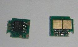 Les puces de la cartouche laser pour HP CP2020/2025 et 2030/2035