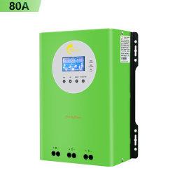 Controller di carica 80 a, ingresso PV max. 48 V, MPPT 150 V. Controller di carica solare