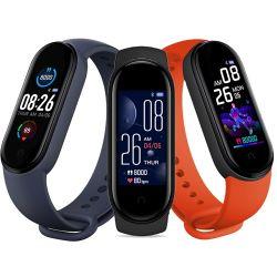 Nuevo producto M5 Hot Sale Fitness Tracker Band Smart Watch Mi 5 Pulsera inteligente de ritmo cardíaco