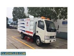 5m3 veicolo ampio di pulizia del camion del serbatoio dell'immondizia delle spazzole di alta efficienza 4
