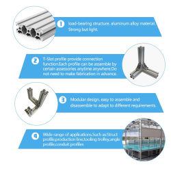 Alta qualidade na janela de alumínio e Seção da Porta de Correr e janela Estrutura de Extrusão