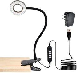 Закрепите фонарь направленного освещения, средства защиты глаз детей настольная лампа. 360° Гибкий держатель ночные лампы.