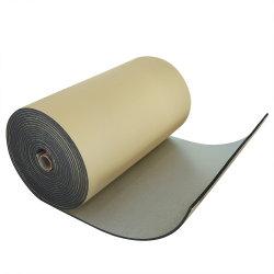 Le fette provano la stagnola di appoggio gomma piuma ondulata materiale adiatermica del tetto XPE Alu di prezzi del blocchetto del polietilene di densità 6-Lb