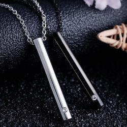 Sein können geöffneter Aromatherapy Zylinder-Anhänger, grenzüberschreitend Titanstahlmänner und Frauen-lange Duftstoff-Flaschen-Halskette