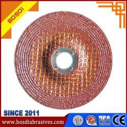 손잡이 플랩 디스크 닦는 플랩 바퀴를 가진 웹 바퀴, 회전 숫돌, 빨강 또는 녹색 또는 까만, 금속 또는 스테인리스 금속 또는 합금 강철 또는 돌