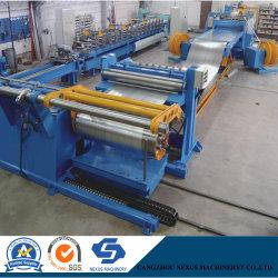 De Machine die van de Snijmachine van het Staal van de Rol van de hoge snelheid Lijn Rewinder met PLC Mistubishi scheurt