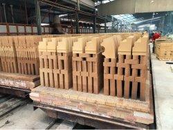 中国高アルミナ アル2O3 耐熱耐火れんが Sk30/Sk32/Sk34 炉ライニング用耐火れんが