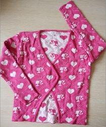 2013년 봄 신스타일 Girl Knit Sweater 유행에 민감한 스웨터 키즈 핑크 스웨터