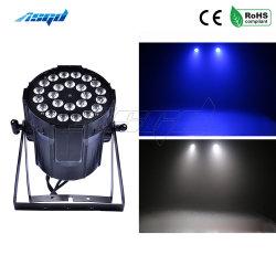 Stadiums-Effekt-Aluminium-Lampe des LED-Wäsche NENNWERT Licht-24X12W 4in1