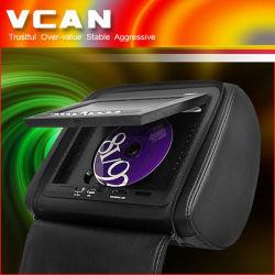 Monitor de 7 pulgadas de reposacabezas dvd divx con juegos (VHA-733)
