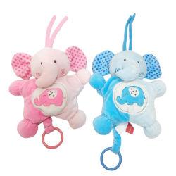 2 Elefante Asstd Peluche com música bebê Peluche