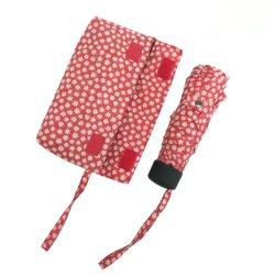 حقيبة اليد ذات التصميم الكبير ذات الستة لوحات سهلة الفتح للنساء مظلات ترويجية حقيبة يد أنيقة صغيرة مطبوعة 5 مظلات للفتيات