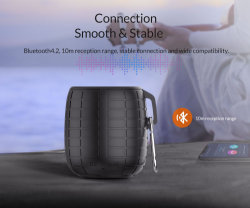 Mini altavoz portátil Bluetooth inalámbrica de audio de música USB TF de altavoces de sonido estéreo FM de Xiaomi Phone Huawei columna Equipo