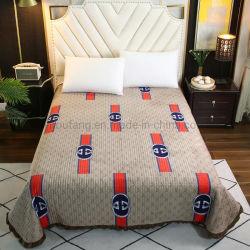 홈 형식 침대보 위안자 모든 절기 동안 특대 누비이불 침구 고정되는 가벼운 커피