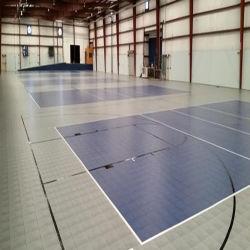 Un revêtement de sol de verrouillage intérieur modulaire multi Sport Flooring Basket-ball des revêtements de sol