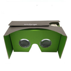 Google Glas-Pappglas-Papier-Glas-Video-Gläser