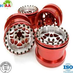 OEM CNC mecanizado anodizado de molienda de alta precisión de mecanizado de aluminio billet habla Juego de ruedas