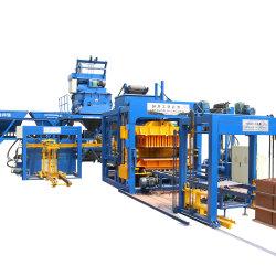 O Qt10-15 Automation Prensa Hidráulica Beton Gumbo do intertravamento de máquina para fazer blocos ocos cospe tijolo máquina de corte