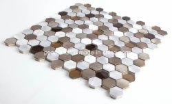 Venta caliente Hand-Cut mosaico aluminio arte de pared