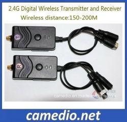 Trasmettitore senza fili zero di Pin 24V 2.4G Digitahi di interferenza 4 per la macchina fotografica di riserva
