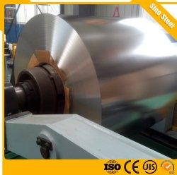 Folha de flandres ETP Prime Tin Free Steel a bobina T2/T3/T4 para alimentos/Materiais Industriais