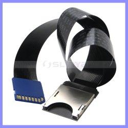 Черный пластик FFC SD разъем SD удлинительный кабель женщин