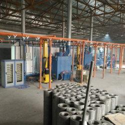 A China em pó linha de revestimento/pó automática do Sistema de Pulverização