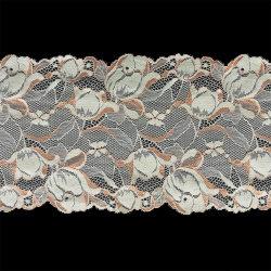Deux tonalités Galloon dentelle florale pour dames Lingerie, Lingerie