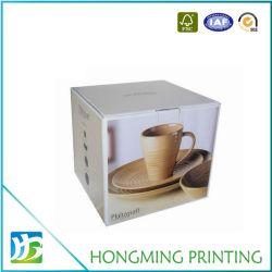 Tasse à café en carton imprimés personnalisés boîte cadeau
