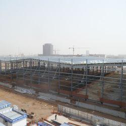 Spazio per la costruzione prefabbricata della Camera del magazzino prefabbricato durevole della struttura d'acciaio