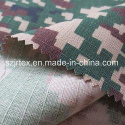 Tessuto di T/C 65/35 Ripstop con stampa per il tessuto della lavorazione con utensili