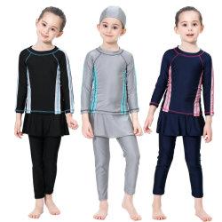 Le ragazze 3 parti di Hat&Top&Pants scherza lo Swimwear musulmano del Beachwear