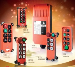 Controle remoto de rádio sem fio industrial para Guindastes