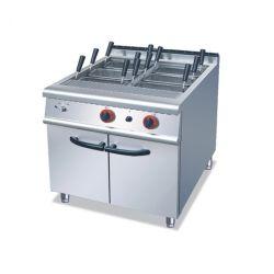 Het commerciële Kooktoestel van de Noedel van het Roestvrij staal Elektrische, het Kooktoestel van Deegwaren met Kabinet