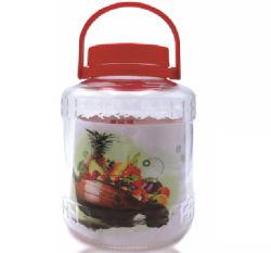 3000ml en verre avec bouchon en plastique de Jar de stockage de grande gueule conteneur