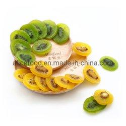 부피에 있는 보존한 키위 조각에 의하여 말리는 과일