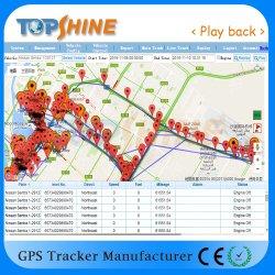 On-line Topshine GPS baseado na Web de software de rastreamento de gestão da frota
