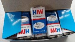 Hiw 6f22 Kohlenstoff-Zink-trockene Batterie der Größen-9V