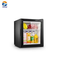 고품질 호텔, 호텔 소형 바 냉장고 공급을%s 유리제 음료 냉각기