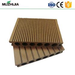 140*25mm carré creux pour l'extérieur de tuiles WPC Decking Flooring