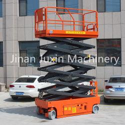 المصنع للبيع 6~16 م رفع المقص الكهربائي ذاتي الدفع