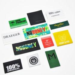 Custom barato acessórios de vestuário Tecidos de logotipo da etiqueta