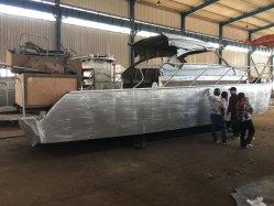 12m Bateau de pêche en aluminium avec cabine de luxe pour la famille