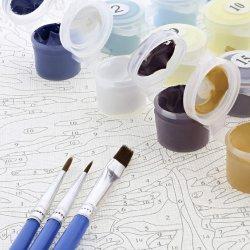 Waterverf/Digitaal Olieverfschilderij/Hand-Drawn Raad van de Krabbel van het Beeldverhaal/van de Kleuring/van de Gouache van Kinderen