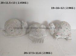 Polimento de acabamento de Cristal Terrazzo Caracol Rã Tartaruga decoração de jardim