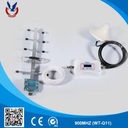 Repetidor de sinal branco pequeno amplificador de sinal 2G com a antena do WT pode melhorar o sinal para Home
